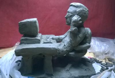 caricatura in argilla