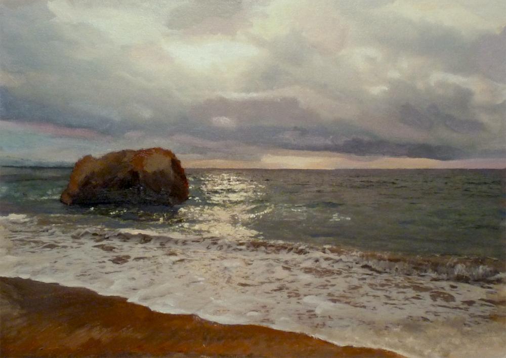 il mare in pittura ad olio