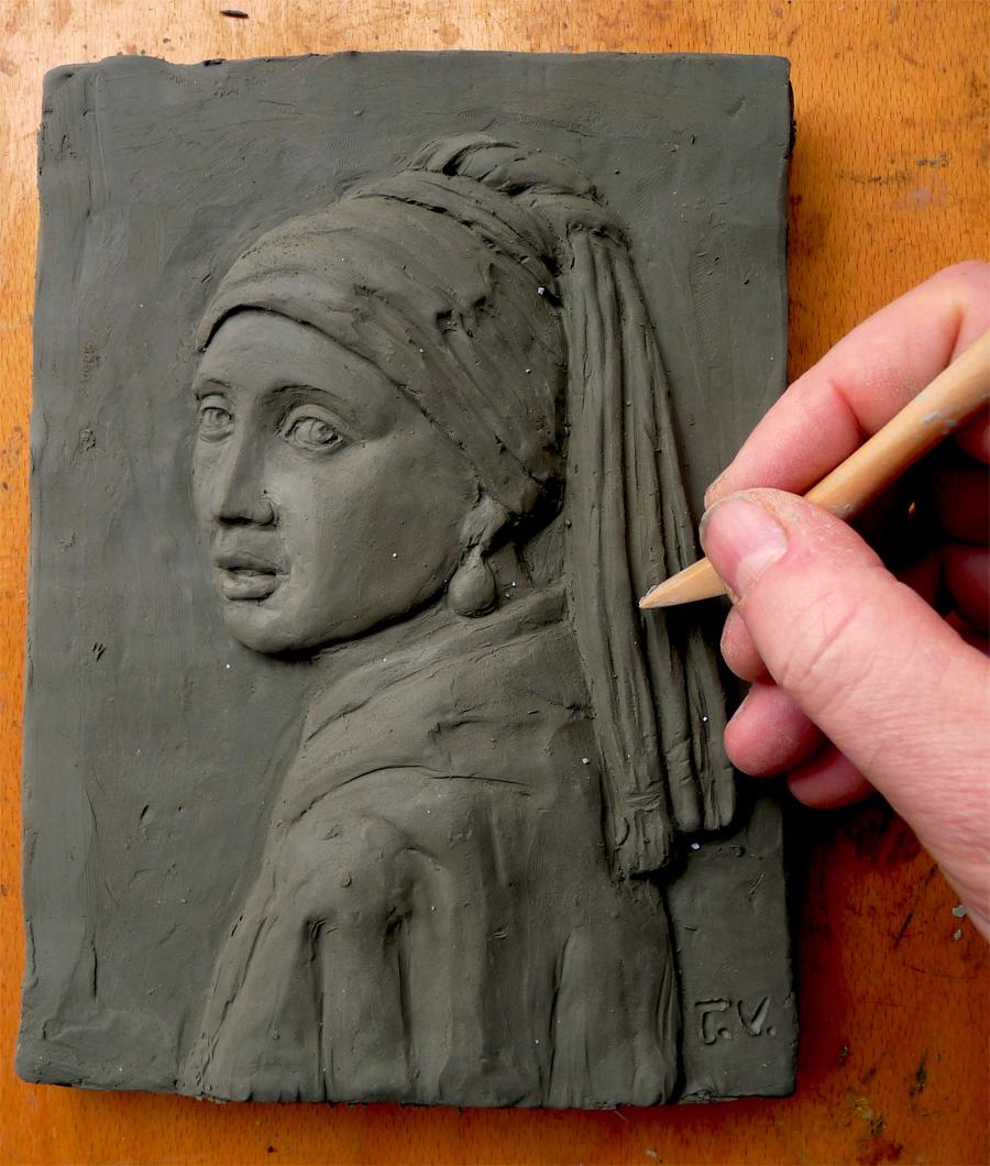 Popolare lezioni di scultura - Tiziano Vincenzi Arte EP92