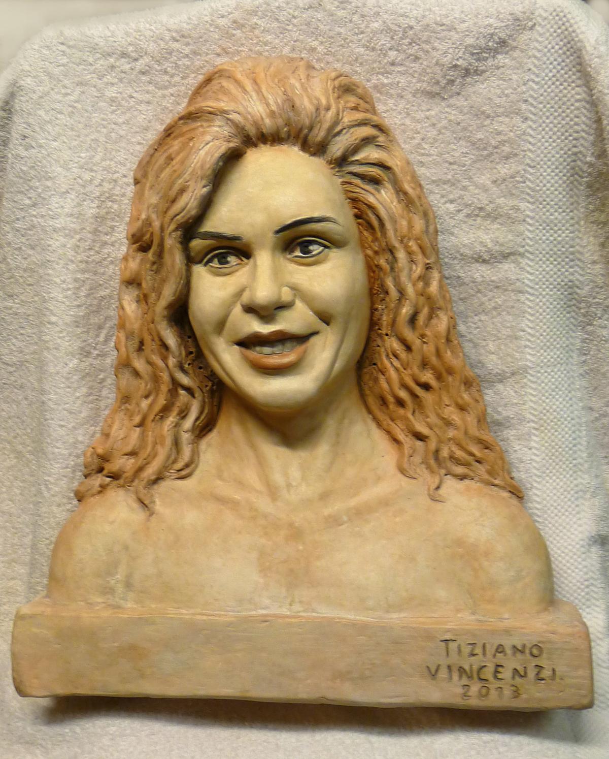 ritratto della nuova garbatella ristorante la sgarbatella scultore vincenzi