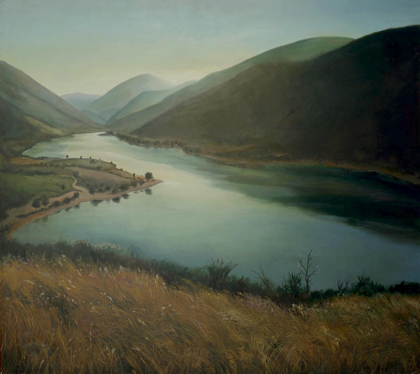 Lago di Caccamo macerata marche