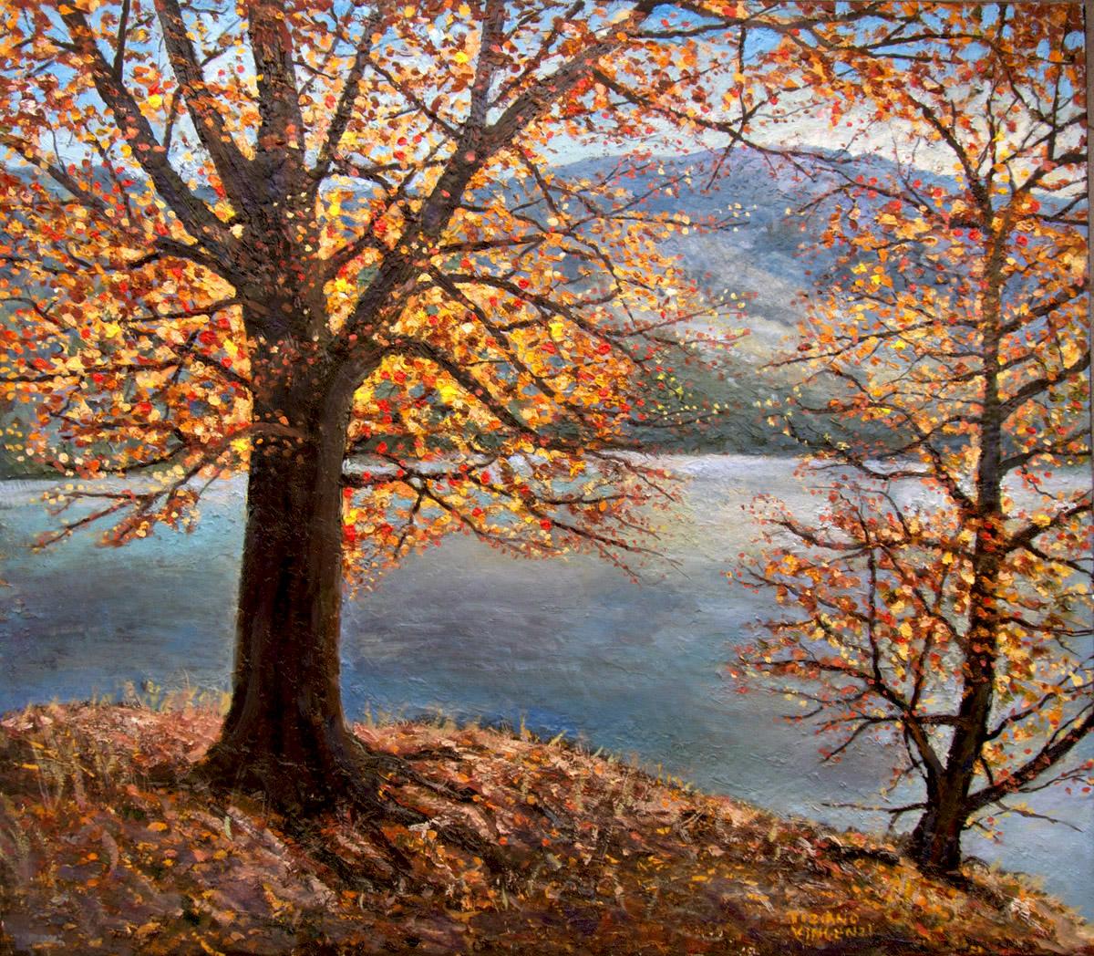 dipinto-autunno-olio-su-tela-festa-di-colori