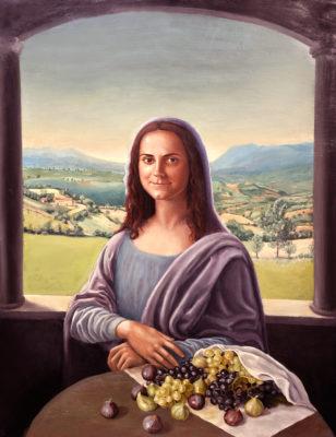 Monna Lisa versione gioconda moderna dipinto