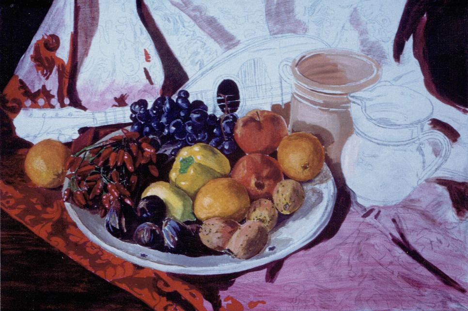come dipingere della frutta