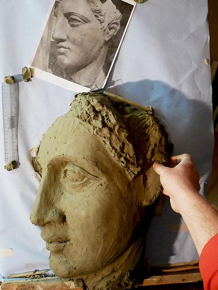 come modellare argilla lezioni scultura