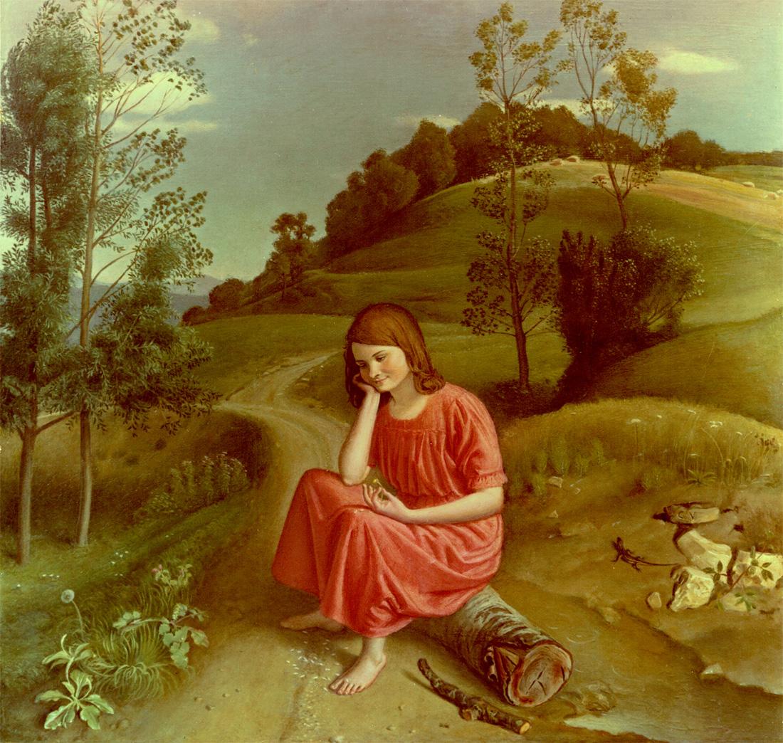 dipinto di Cesarino Vincenzi pittura ad olio