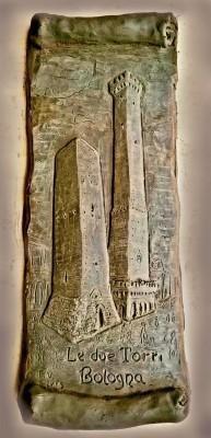 le torri bologna immagine medievale le due torri