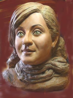 ritratto in scultura