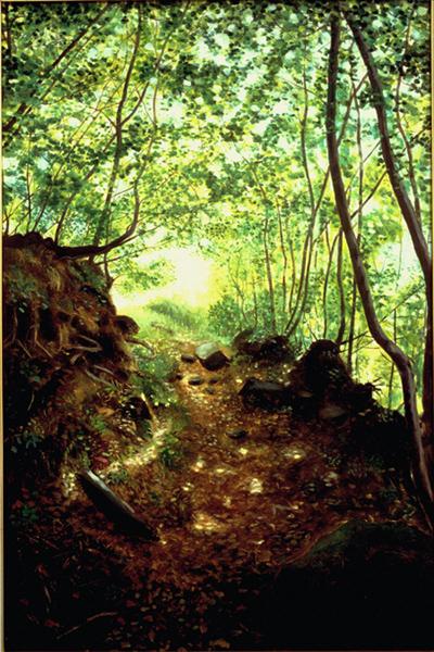 sentieri-bosco-pittura impressionista