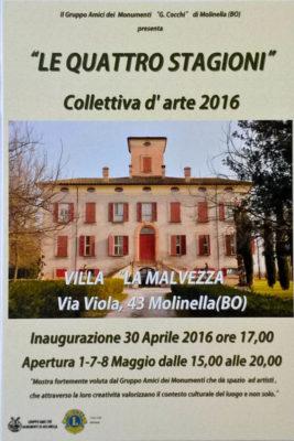 villa malvezza mostra collettiva Molinella