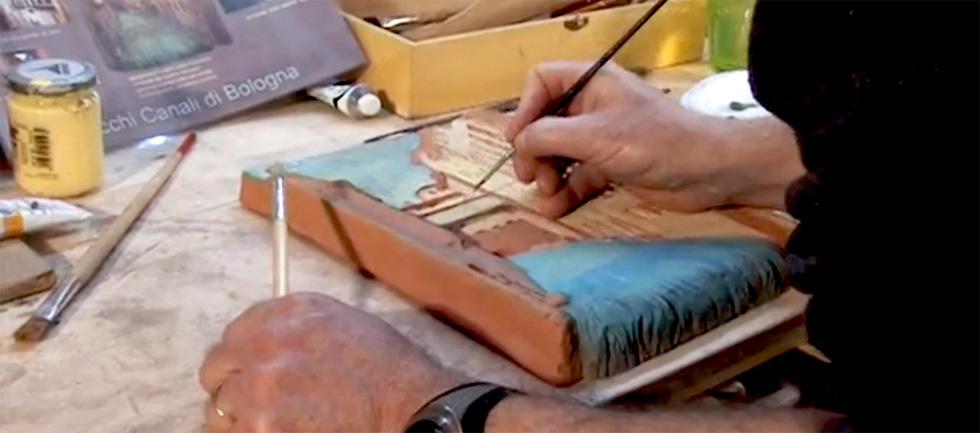 bottega arte bologna vincenzi