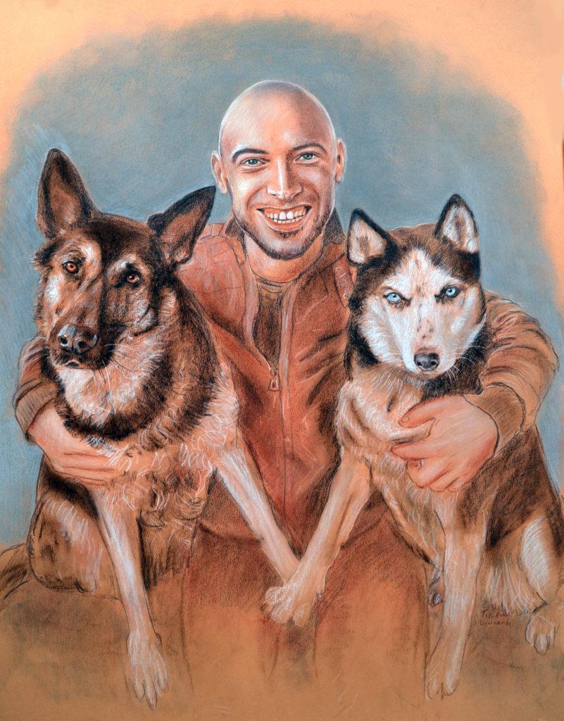 ritratto di cani