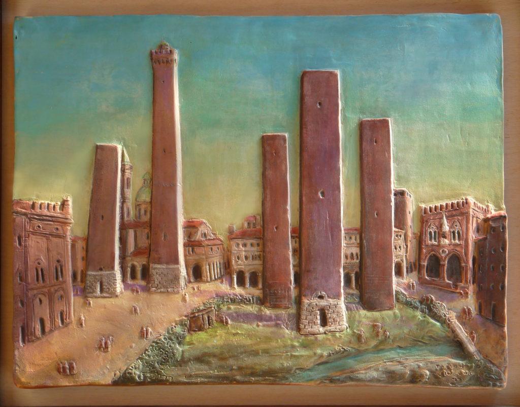 bologna le 5 torri demolite medievali
